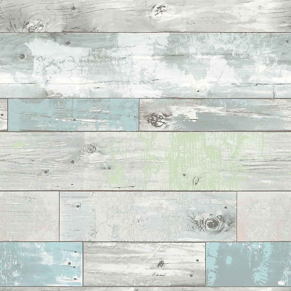 NuWallpaper Beachwood Peler et Coller Papier Peint | Home Depot Canada