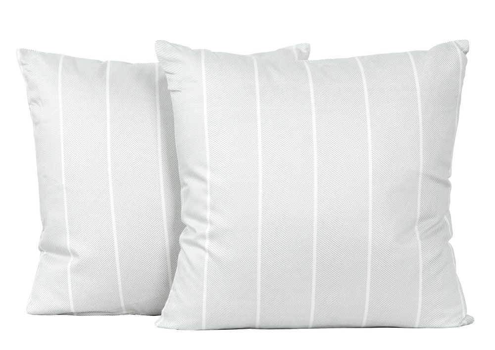 Pastiche 18-inch Square Cotton Decorative 2-pack Cushion Set