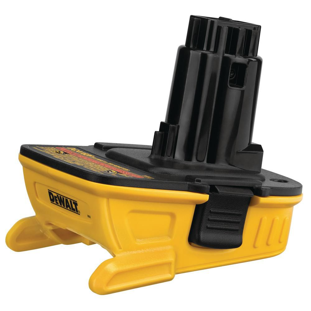 Ladaptateur de batterie 20V MAX* DCA1820 de DEWALT pour outils 18V