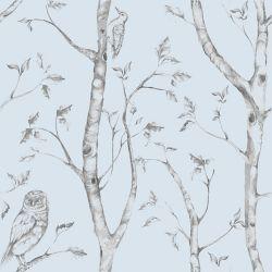NuWallpaper Bleu Woods Peler et Coller Papier Peint