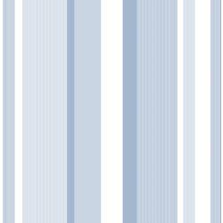 NuWallpaper Auvent Rayure Bleu Peler et Coller Papier Peint