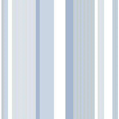 NuWallpaper Blue Awning Stripe Peel And Stick Wallpaper