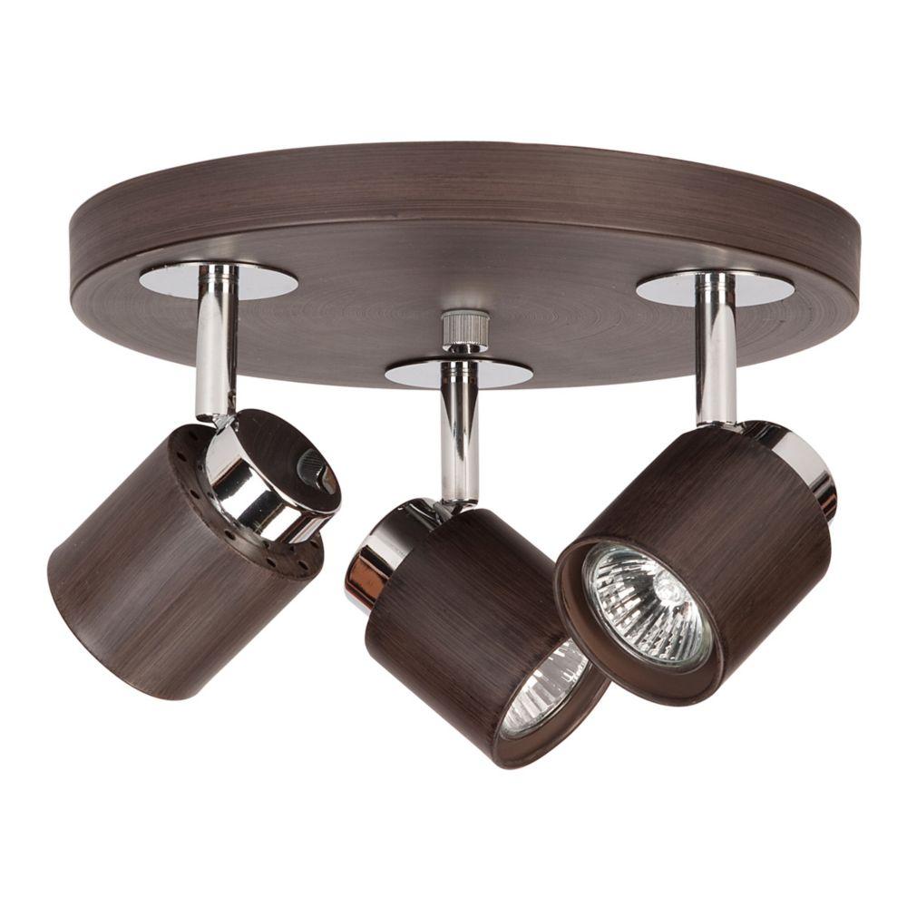Plafonnier à 3 ampoules DEL Berwind