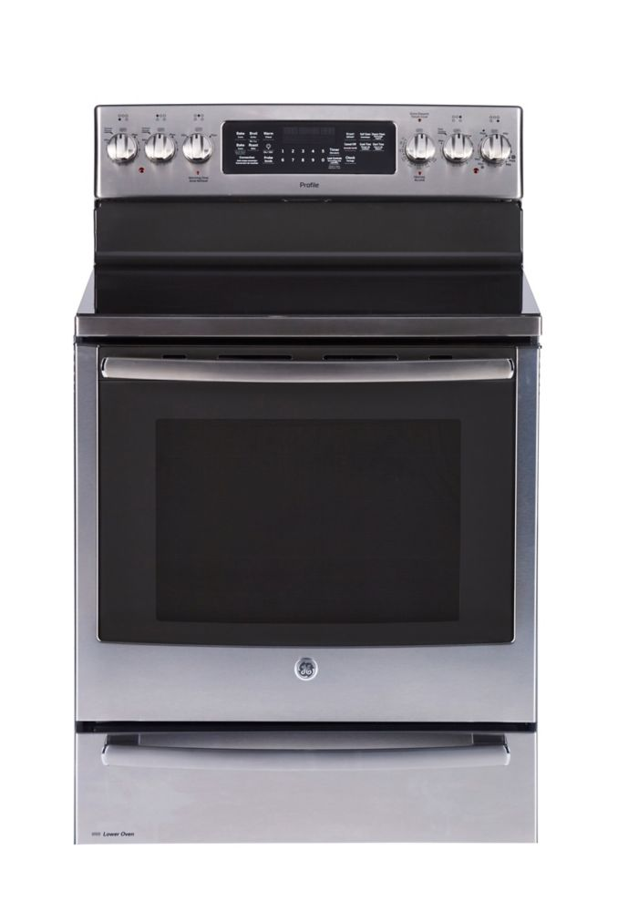 6.2 cu. ft. 30-inch Free-Standing Electric Self-Cleaning Convection Range with Baking Drawer