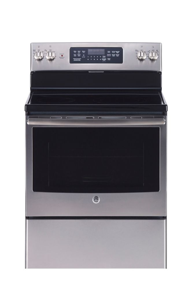 5.0 cu. ft. 30-inch Free-Standing Electric Self/Steam Clean Convection Range
