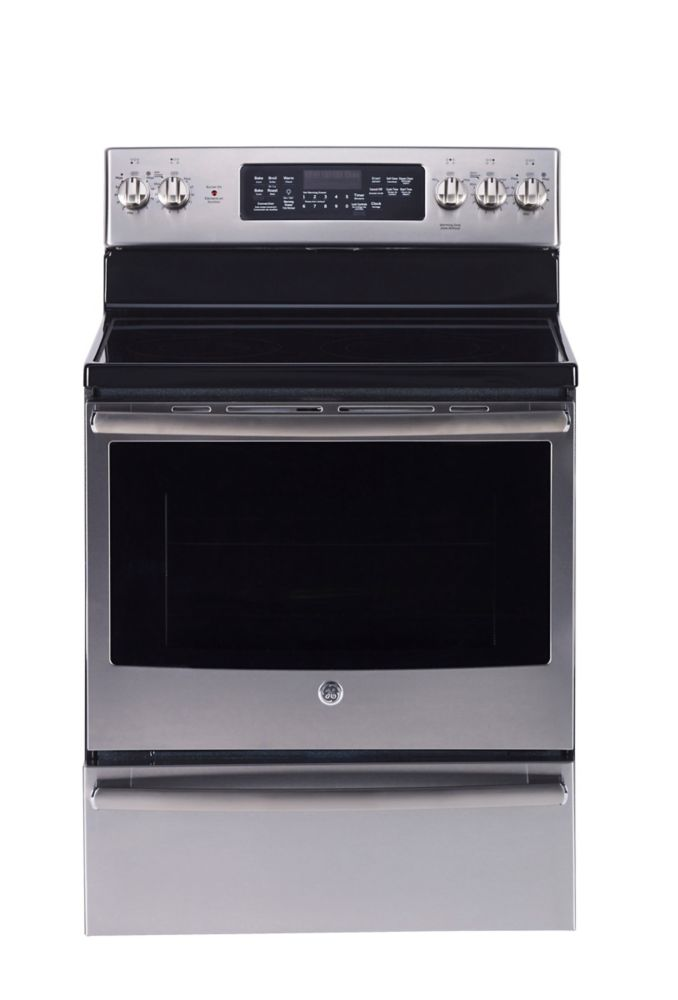 5.0 cu. ft. 30-inch Free-Standing Electric Self-Cleaning Convection Range with Warming Drawer
