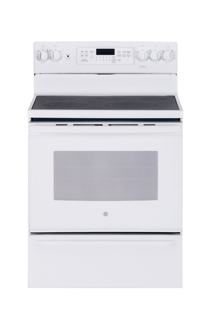 5.0 cu. ft. 30-inch Free-Standing Electric Self-Cleaning Convection Range