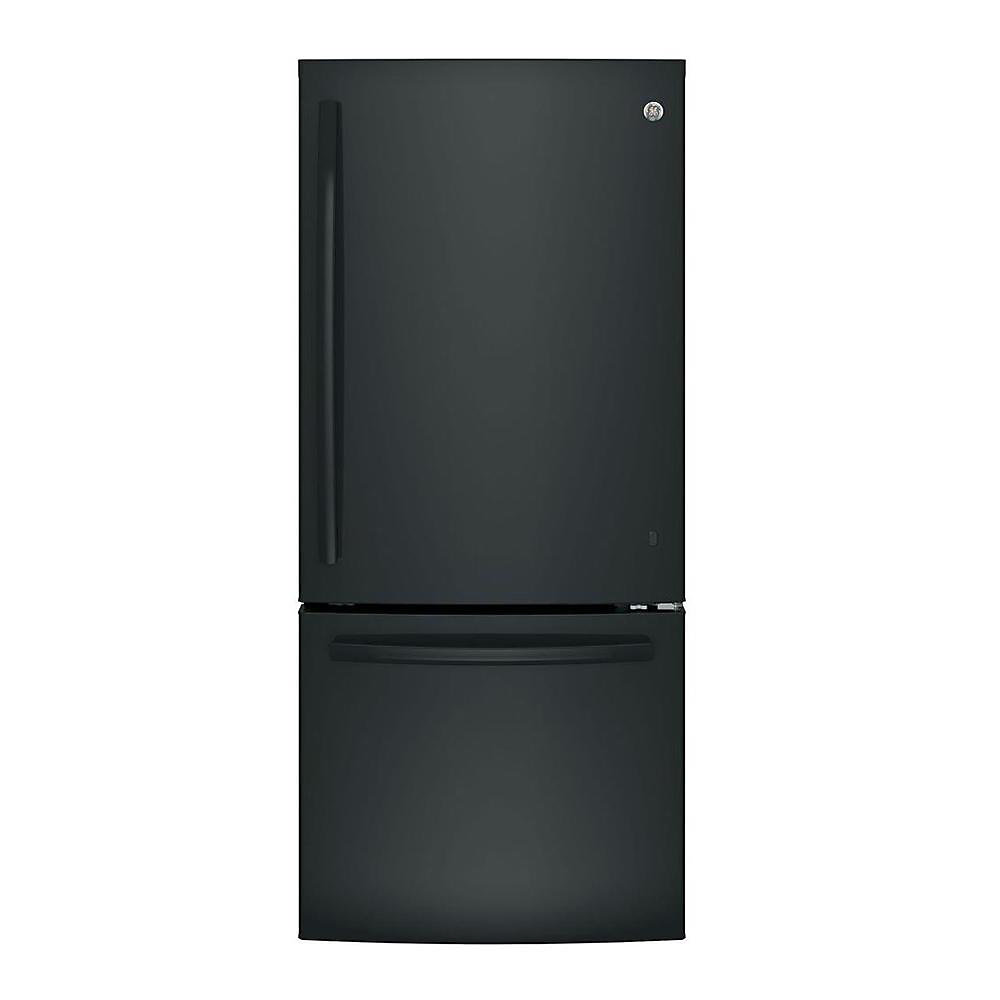 30-inch W 20.9 cu. ft. Bottom Freezer Refrigerator in Black - ENERGY STAR®