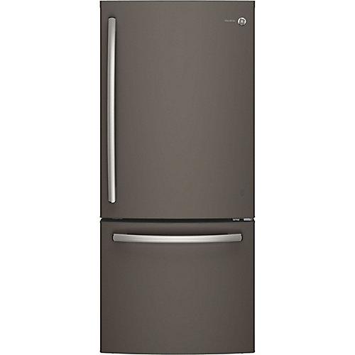 "30"""" 20.9 cu. ft. Bottom Freezer Refrigerator in Slate - ENERGY STAR®"