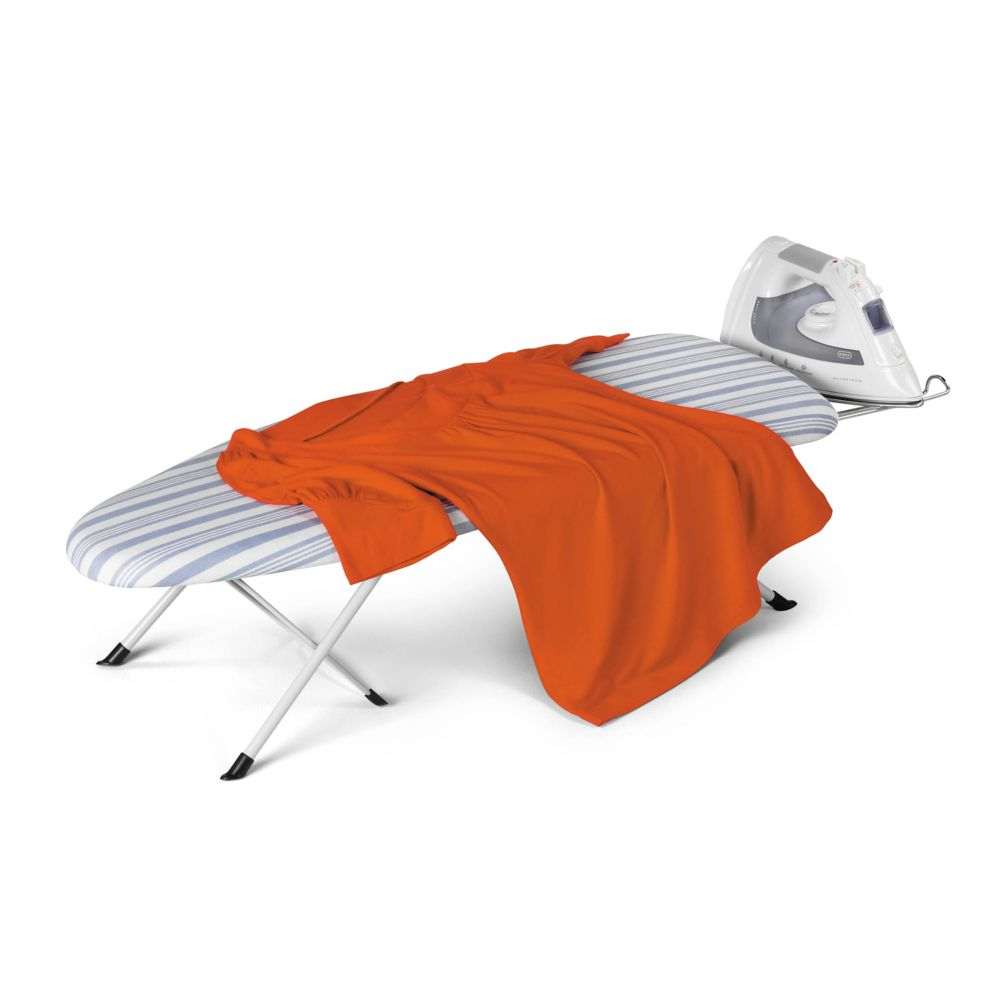 Honey-Can-Do International Foldable Table Top Ironing Board