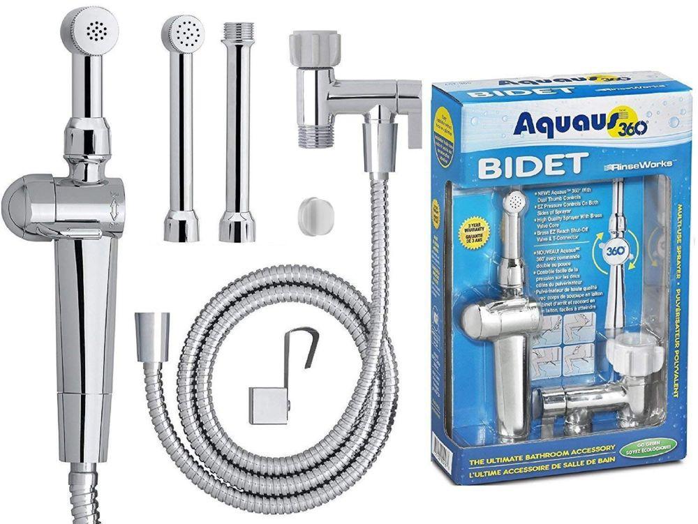 RinseWorks Aquaus 360 EZ Pressure Control Premium Hand