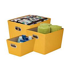plastic storage totes the home depot canada. Black Bedroom Furniture Sets. Home Design Ideas