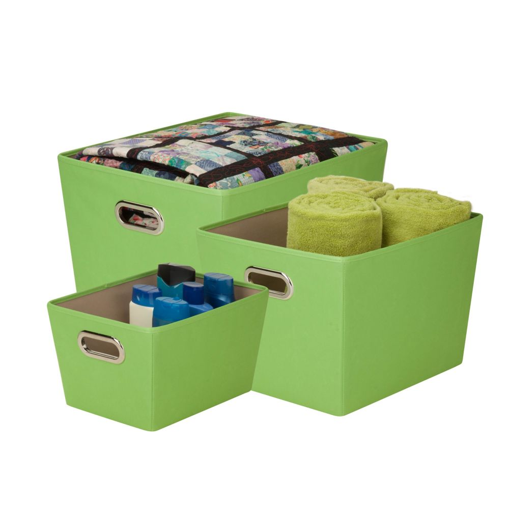 organzing tote kit, green