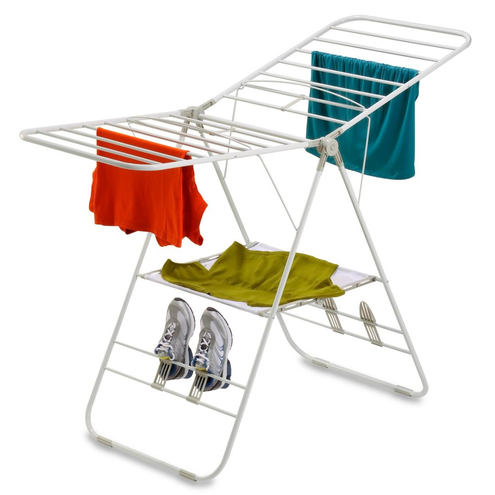 heavy-duty gullwing drying rack