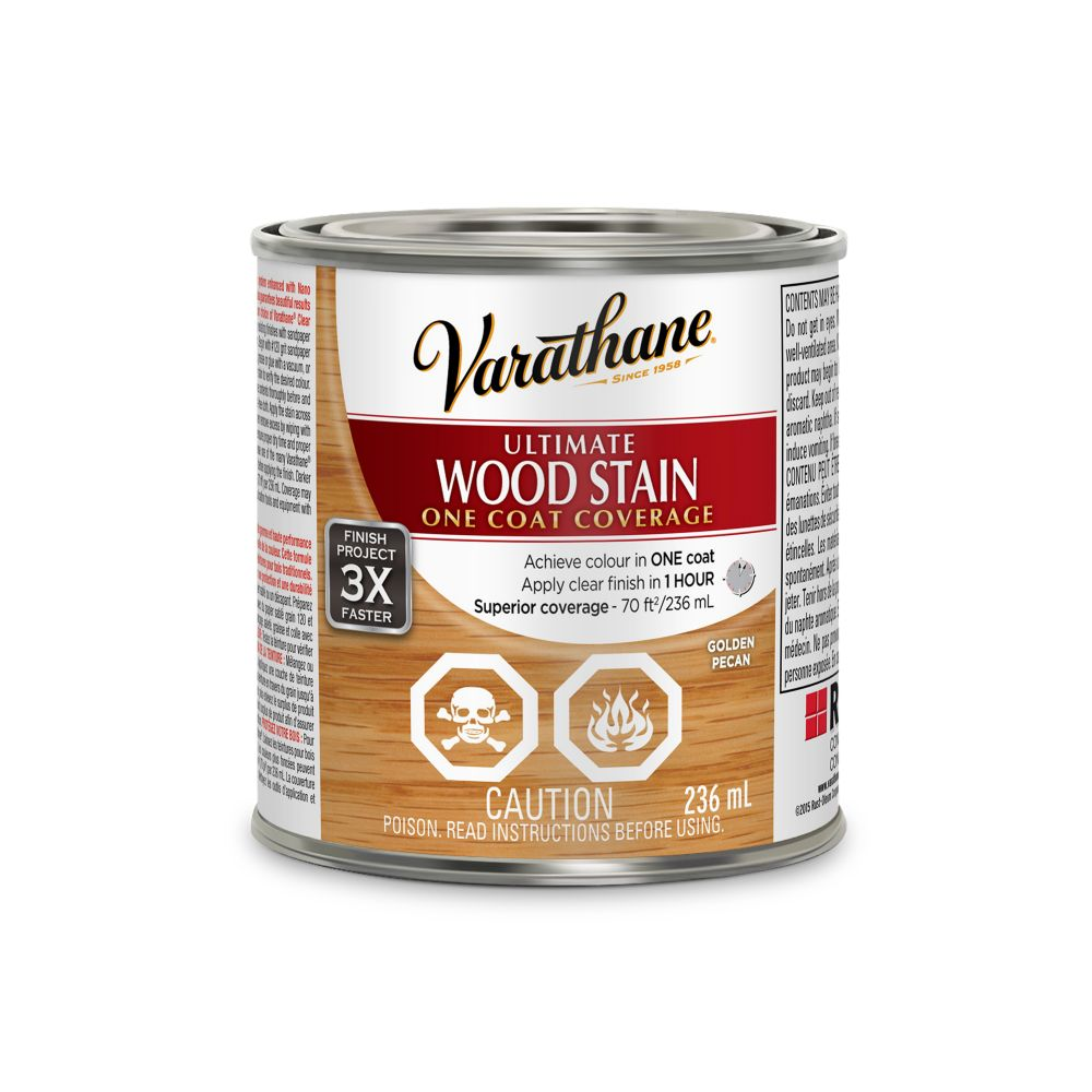 Varathane Ultimate Stain Golden Pecan 236ML