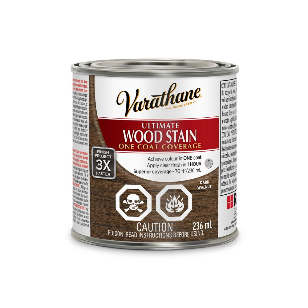 Varathane Ultimate Stain Dark Walnut 236ML