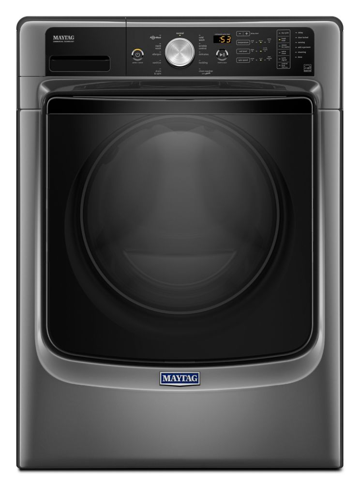 Front Load Washer with Fresh Hold Option and PowerWash System - 5.2 cu. Ft IEC Capacity