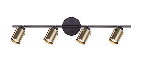 Home decorators home decorators caymus 4 light orb track light home decorators caymus 4 light orb track light with brass shades mozeypictures Choice Image