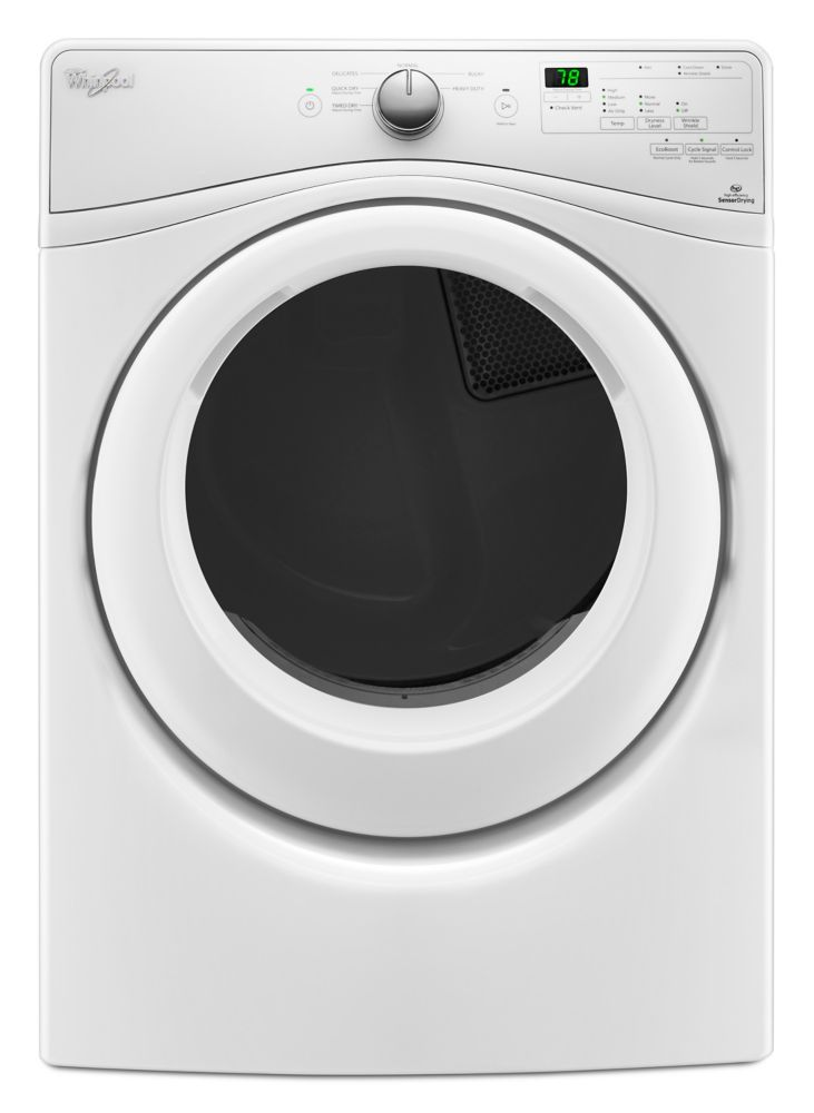 7.4 cu. Feet Duet High Efficiency Front Load Electric Dryer with ENERGY STAR