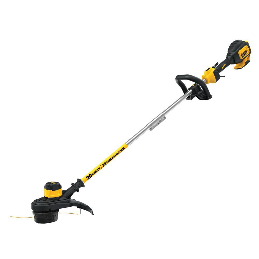 DEWALT 13-inch 20V MAX Li-Ion Cordless Brushless Dual Line String Grass Trimmer - (Tool Only)