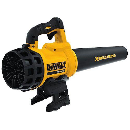 DEWALT 20V MAX Lithium-ion Cordless 90 MPH 400 CFM Handheld Leaf Blower (Tool Only)