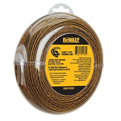 DEWALT 0.080-inch x 225 ft. Replacement Line for Cordless Battery Operated Bump Feed String Grass Trimmer/Lawn Edger