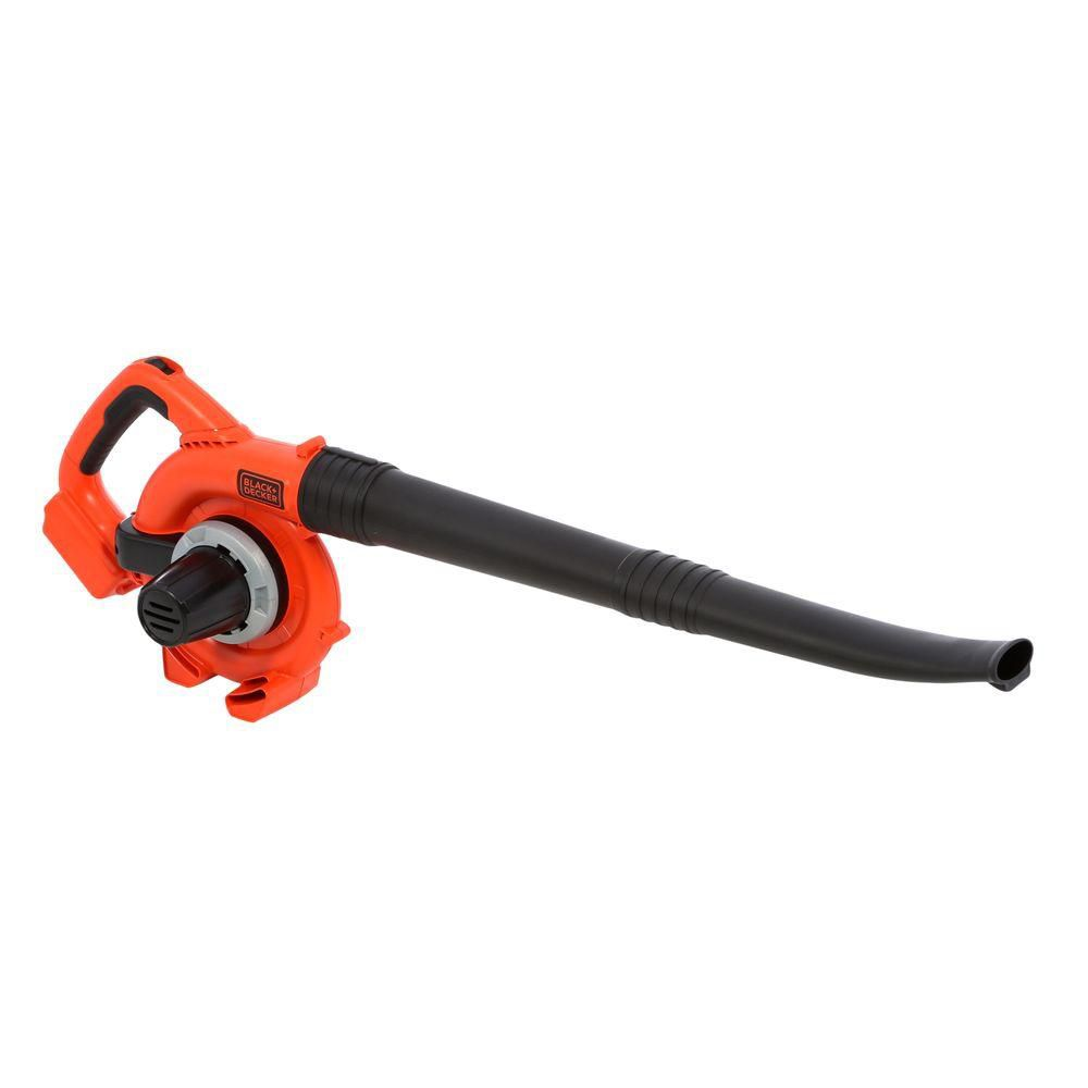 Black + Decker LSW20B 120 MPH 20-Volt Lithium-Ion Cordless Electric Sweeper Blower (Bare Tool)