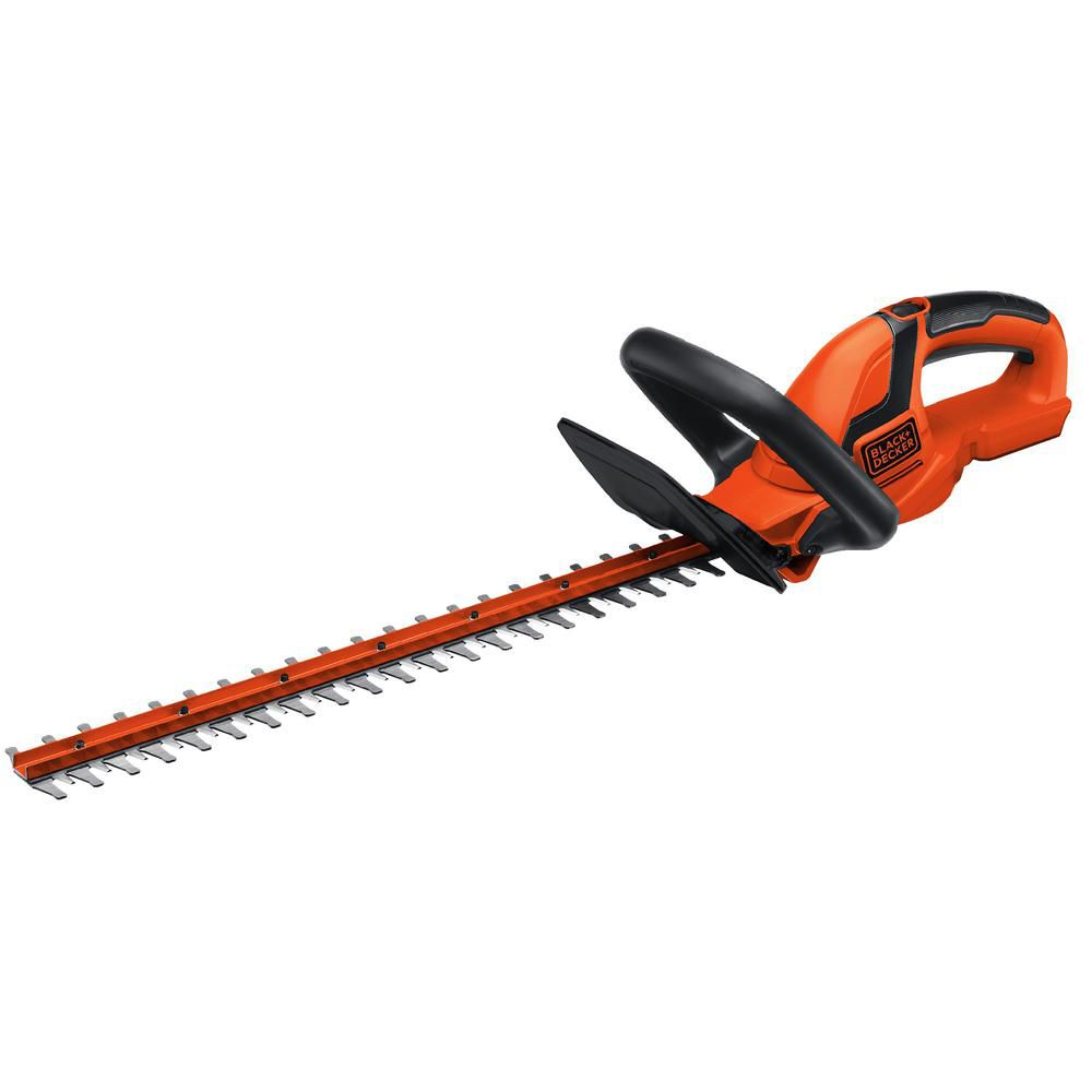Black + Decker LHT2220B 22-In 20V MAX Li-Ion Cordless Hedge Trimmer (Bare Tool)
