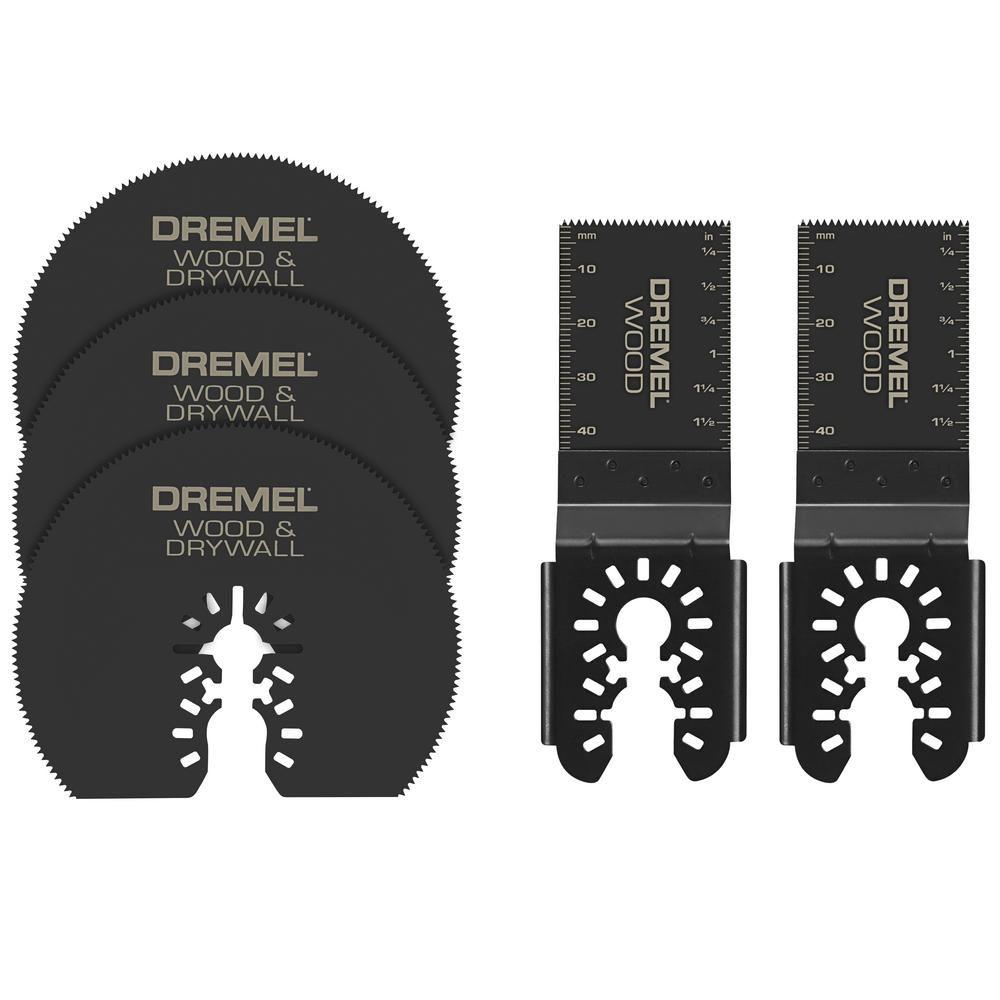 Dremel 5-Piece Multi-Max Cutting And Variety Kit