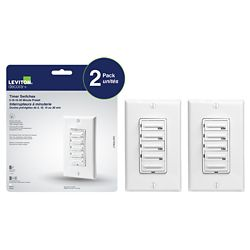Leviton Decora Preset 30 minute digital countdown timer, (2-Pack)