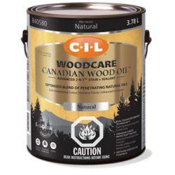 CIL Traite-Bois Huile de bois canadien Nat 3.78L-840580