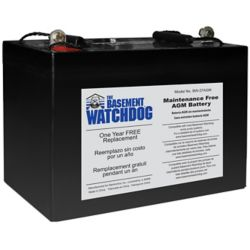 Basement Watchdog Maintenance Free (AGM) Standby Battery