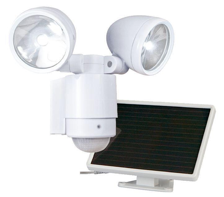 Maxsa Innovations -2 projecteurs alimentaion Solaire - Blanc Pur