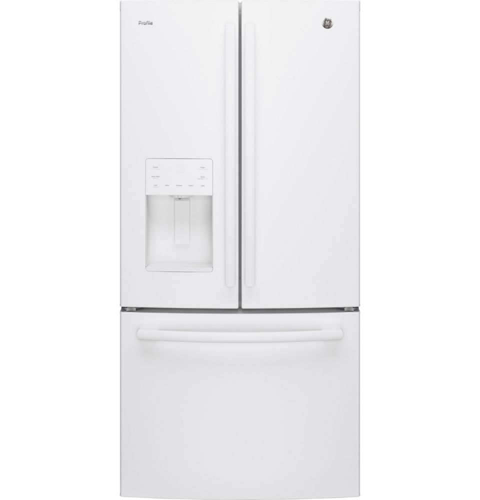 23.8 cu. ft. French Door Refrigerator with External Ice and Water Dispenser