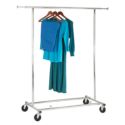 Home Depot Garment Rack Fascinating HoneyCanDo International Commercial Garment Rack With Two Locking