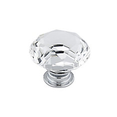 Eclectic Crystal Knob - 2828