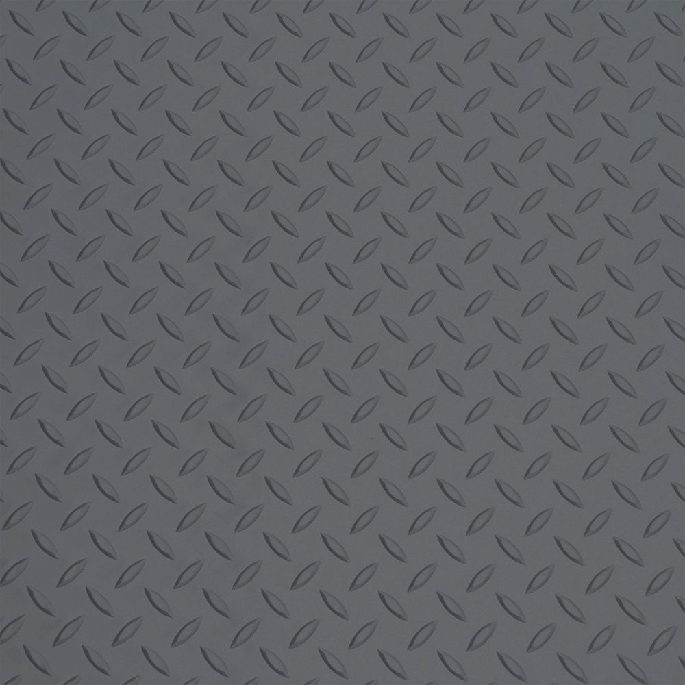 Paillasson Diamond Deck, cuirassé gris, 5 pieds x 3 pieds