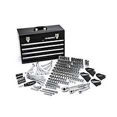 250-Piece Mechanics Tool Set W/Metal Box
