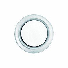 Wired Lighted Door Bell Push Button Insert - Nickel