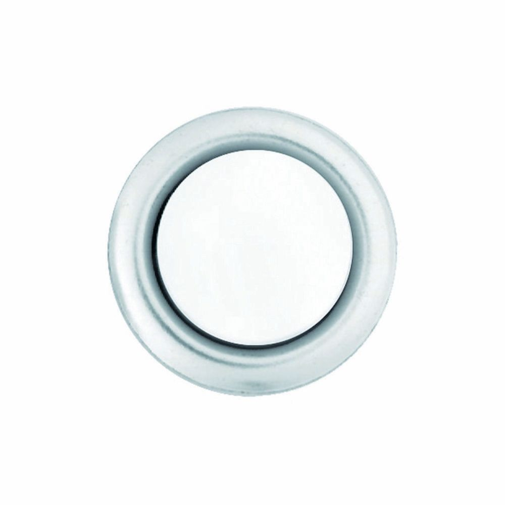 Wired Lighted Bell porte Bouton poussoir Insert - Nickel