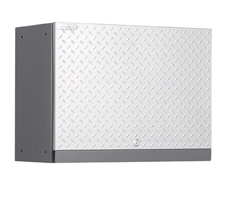 NewAge Performance Diamond Series  Wall Cabinet, Silver