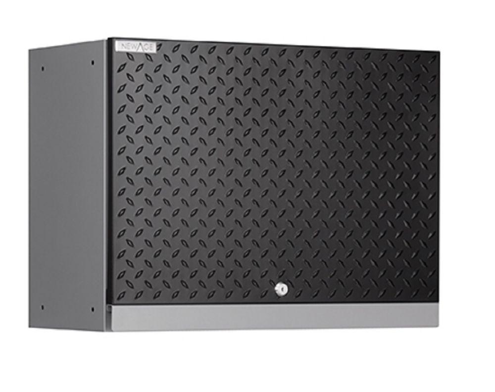 NewAge Performance Diamond Series Wall Cabinet, Black