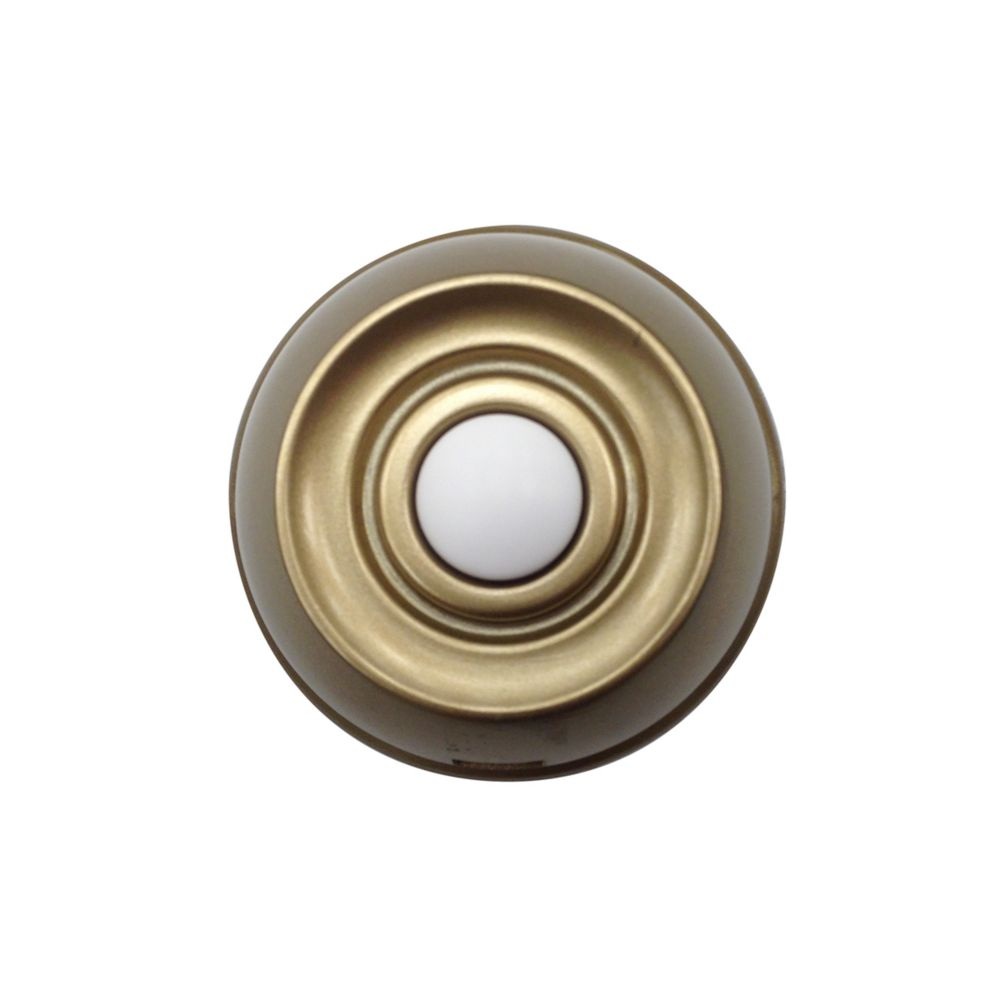 Bouton poussoir sans fil - Aged Brass