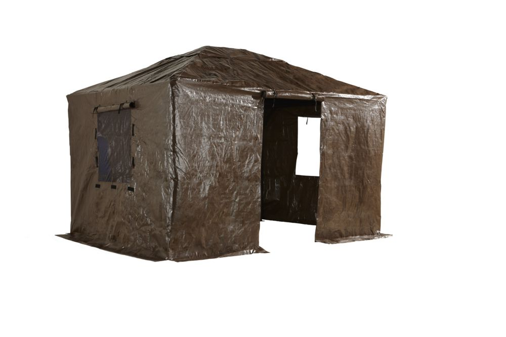 Sojag Gaspe Genova 10 Ft X 12 Ft Gazebo Winter Cover In