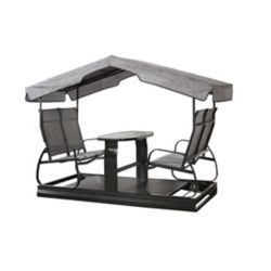 Sojag 4-Seater Garden Swing in Charcoal