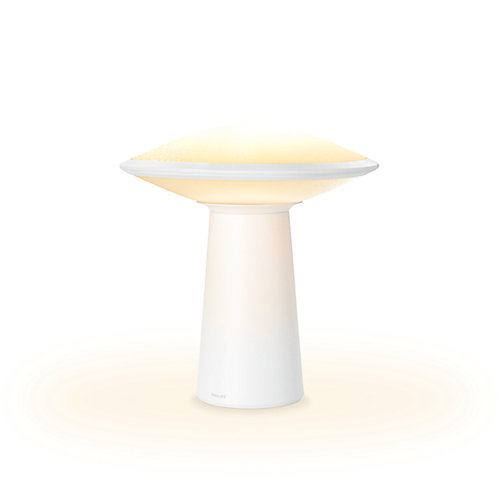 Hue Phoenix Table Lamp, Opal White