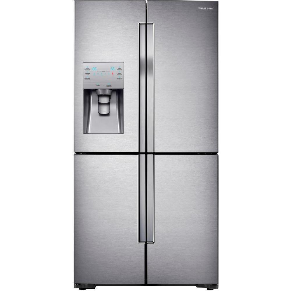 Samsung 28 Cu.Feet 4 Door French Door Refrigerator with Convertible Zone - RF28K9070SR