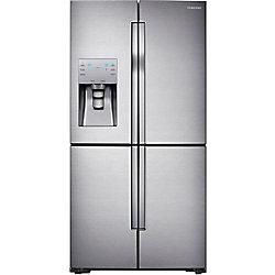 28 Cu.ft. 4 Door French Door Refrigerator with Convertible Zone - RF28K9070SR - ENERGY STAR®