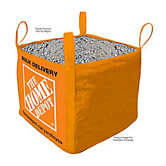 Crushed Stone - Bulk Delivered Bag - 1 Cubic Yard (0-19mm/0- inch)