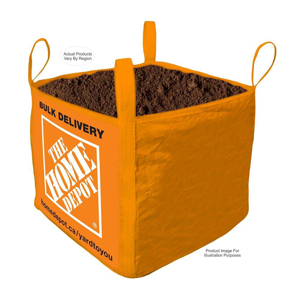 Top Soil- Bulk Delivered Bag- 1 Cubic Yard
